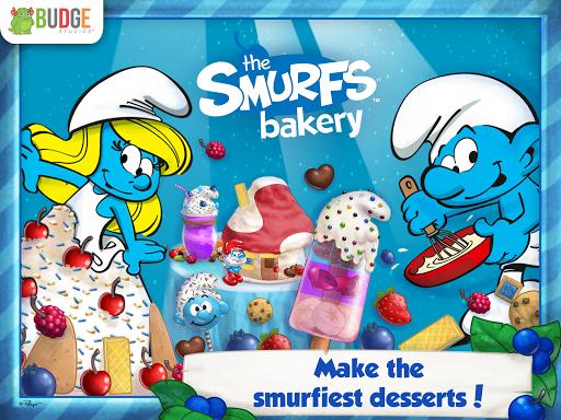 藍色小精靈烘培坊 – 甜點師 The Smurfs
