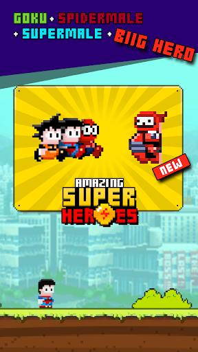 Amazing SuperHeroes 8-bit