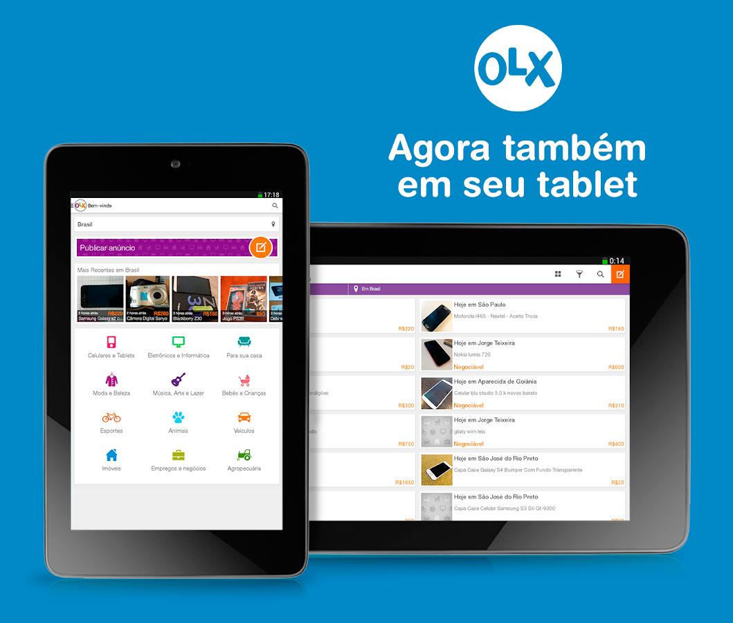 OLX Classificados Grátis – Apps para Android no   Play #0088C6 1059x900