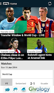 Goal.com - screenshot thumbnail