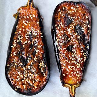 Nasu Dengaku - Miso Glazed Eggplant