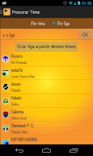 Parciais Cartola FC - screenshot thumbnail