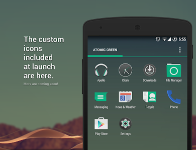 Atomic Green CM11 CM12 Theme v2.90