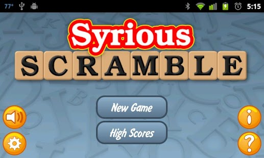 Syrious Scramble® Full- screenshot thumbnail
