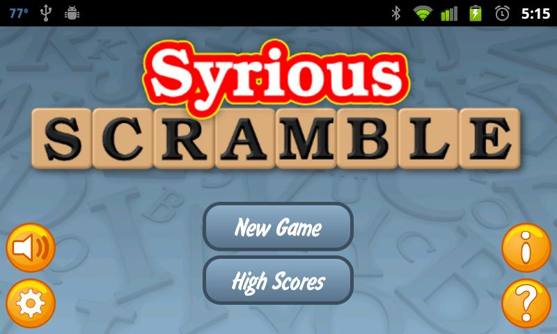 Syrious Scramble® Full- screenshot