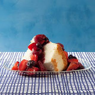 Ginger-Balsamic Triple-Berry Topping