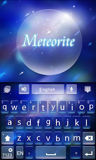 Meteorite GO Keyboard Theme