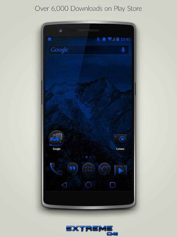JB Extreme Blue CM12 CM11- screenshot