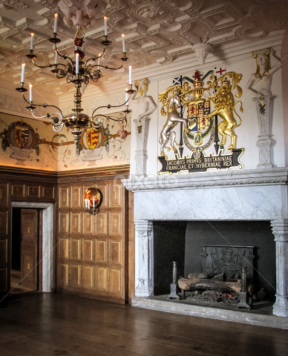 Royal Palace In Edinburgh Castle (interior) By Gabriel Tocu   Buildings U0026  Architecture Other