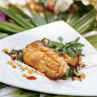 Ginger-Soy Glazed Mahi Mahi