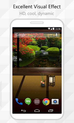 Japanese Garden Live Wallpaper