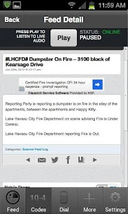 LHCScanner - screenshot thumbnail