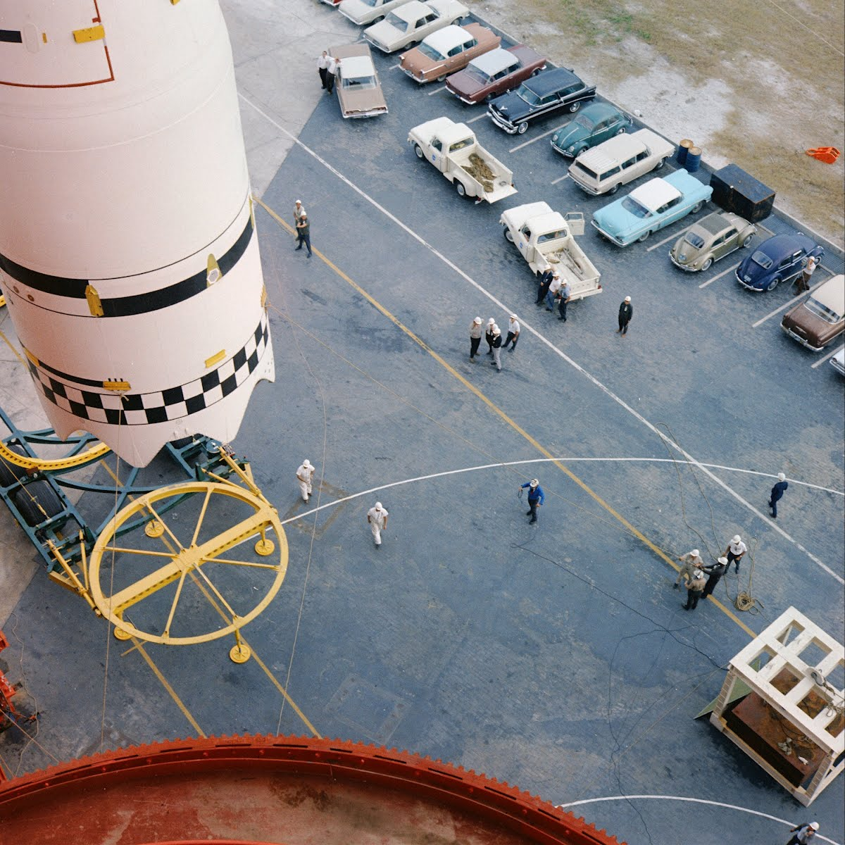 Saturn 2Nd Stage Cape Canaveral