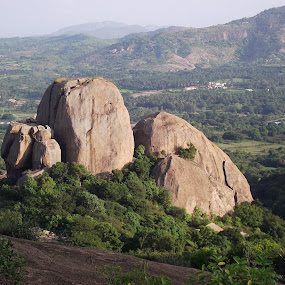 Sholay movie was filmed here by Mallikarjun Nath - Landscapes Mountains & Hills