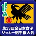 第33回全日本女子サッカー選手権大会 logo