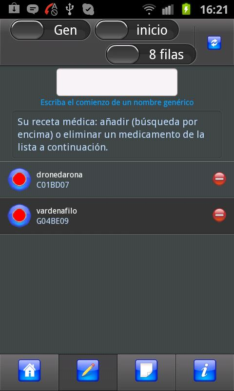 Receta Médica - screenshot