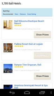 All Bali Hotels - screenshot thumbnail