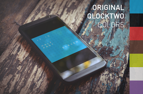 QLOCKTWO- screenshot thumbnail