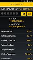 Screenshot of RWIS Road Weather Information