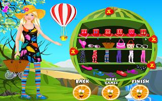 Screenshot of Fairy Princess Trip Dress Up