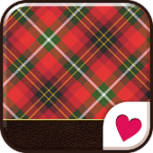 Cute wallpaper★Tartan Red