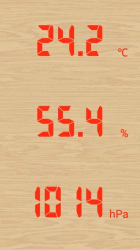 温湿気圧計 温度 湿度 気圧計