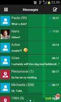 Screenshot of GO SMS Windows 8 Metro