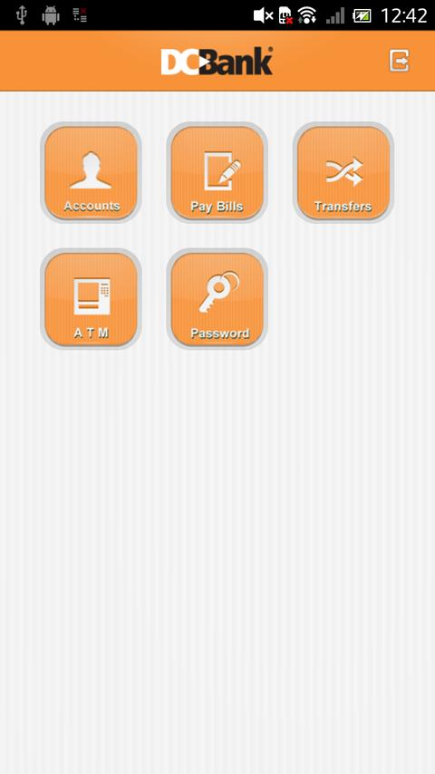 DCBank Mobile Banking- screenshot