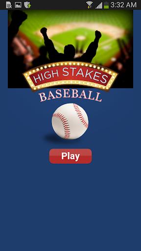 High Stakes Baseball