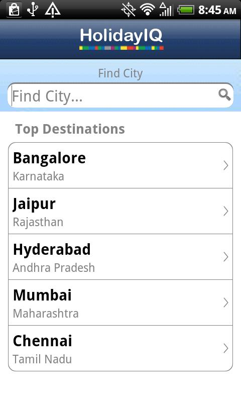 HolidayIQ India - screenshot