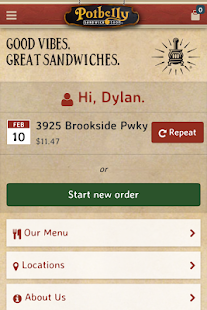 Potbelly Sandwich Shop- screenshot thumbnail
