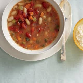 Vegetable-Bean Soup.