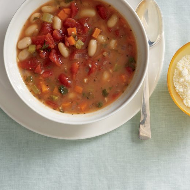 Vegetable-Bean Soup Recipe