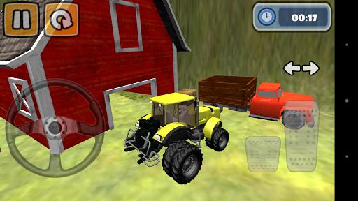 拖拉機停車3D模擬器