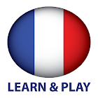 Learn and play. French free icon