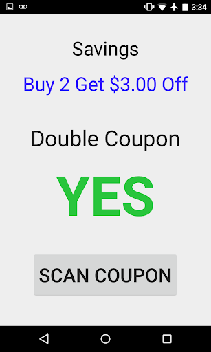 Double Coupon Checker