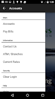 Screenshot of Oregonians Credit Union