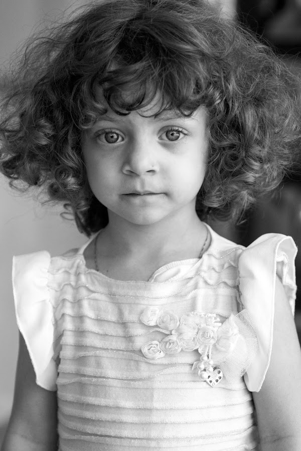 Young lady by Lucian Pirvu - Babies & Children Child Portraits ( curly, girl, baby girl, young girl, curly hair, , KidsOfSummer )