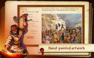 Screenshot of King of Dragon Pass