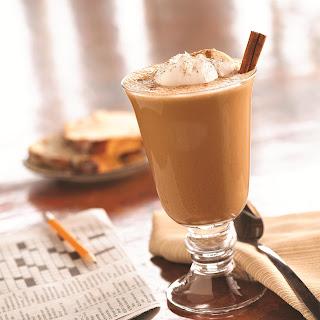 Aztec Cinnamon Chocolate Iced Cappuccino.