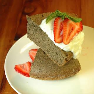 Buckwheat Brown Sugar Angel Food Cake.