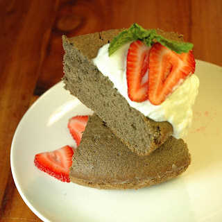 Buckwheat Brown Sugar Angel Food Cake.