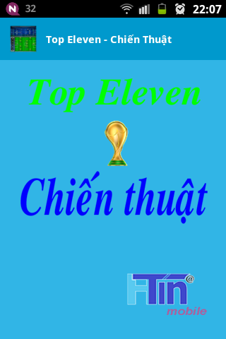 Top Eleven - Chiến thuật
