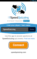 Screenshot of SpeedQuizzing Virtual Buzzer