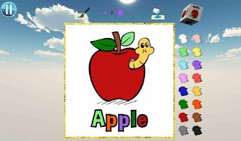 Screenshot of ABC Coloring Town Free