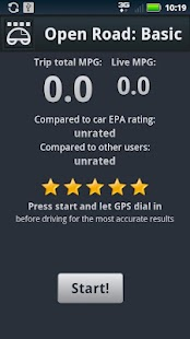 Open Road: Fuel Economy Pro - screenshot thumbnail