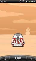 Screenshot of Pesoguin LWP WINTER -Penguin-