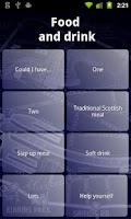 Screenshot of Glasgow Phrasebook LITE