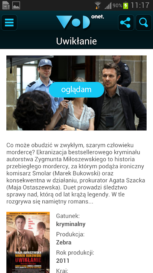 VoD Onet - screenshot
