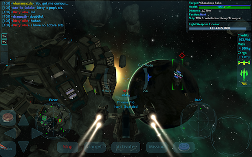 Vendetta Online (3D Space MMO) Screenshot 2